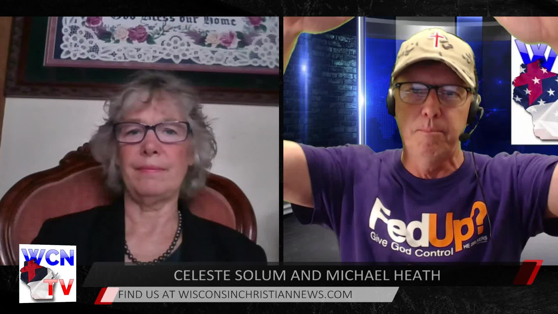 WCN-TV September 9, 2020 - with Guest Host Michael Heath and Celeste Solum
