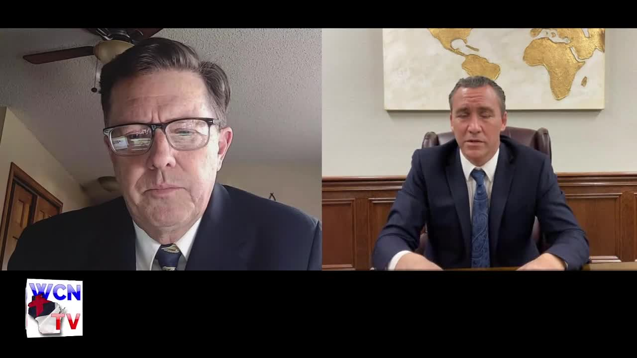 WCN-TV LIVE   February 24th, 2021   Michael Heath and Tony Spell